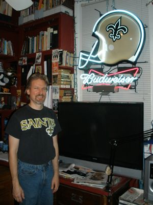 New Orleans Saints Budweiser Sign