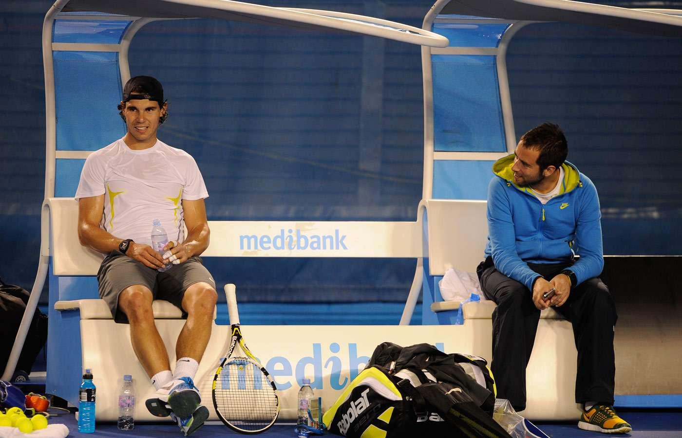Rafaholics.com: AO: Rafa Nadal Training Photos HQ