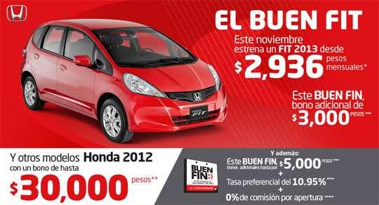 Ofertas de Honda 2012
